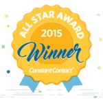 Constant Contact All Star Award Winner 2015