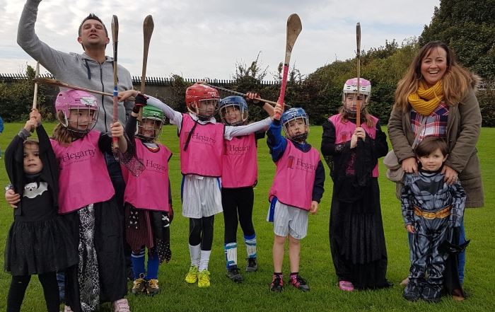 Happy to have supported Kevin's Hurling & Camogie Club's juvenile section with their training gear.